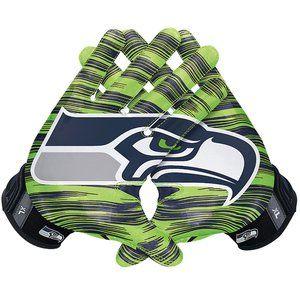 Nike Seahawks Vapor Jet 3.0 Receiver Gloves XL
